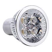 4W GU10 LED 스팟 조명 MR16 4 고성능 LED 350-400 lm 따뜻한 화이트 AC 85-265 V