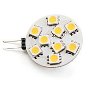 3W G4 LED 스팟 조명 9 SMD 5050 100 lm 따뜻한 화이트 DC 12 V