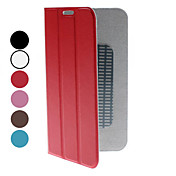 Para Samsung Galaxy Note con Soporte / Flip / Origami Funda Cuerpo Entero Funda Un Color Cuero Sintético Samsung Note 2
