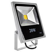 Luz LED Impermeable Blanco Natural 20W 1500-1600LM 6000-6500K (85-265V)