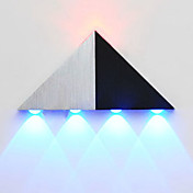 5 LED Integrado Moderno/Contemporáneo Galvanizado Característica for LED Bombilla Incluida,Luz Ambiente Luz de pared