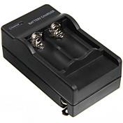 2Pcs는 TR 16340 1000MAH 3.7V 보호 건전지를 가진 4.2V 600MAH 충전기