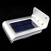 야외 태양 광 발전 16 LED 모션 센서 감지기 안전 빛 정원 램프