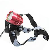크리 사람 XM-L의 T6 3 형태 1200 루멘 LED 자전거 / 자전거 정면 빛 (4 1T63MBL)를 LED