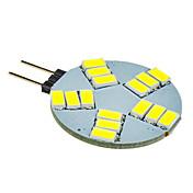 5W G4 LED 스팟 조명 15 SMD 5630 330 lm 차가운 화이트 DC 12 V