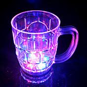 LED Flash Big Beer Glass
