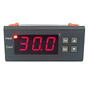 감지기를 가진 30A 220V 디지털 방식으로 LCD 온도 조절기 열전대