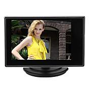 avc rca 비디오 사운드 입력으로 CCTV 카메라 용 3.5 인치 tft LCD 조절 가능 모니터