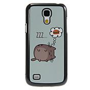 용 삼성 갤럭시 케이스 패턴 케이스 뒷면 커버 케이스 고양이 PC Samsung S4 Mini