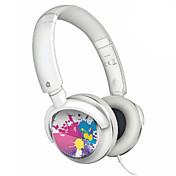 iPod를위한베이스 사운드 (화이트)와에 귀 헤드폰
