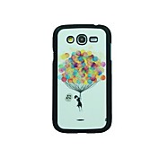 Para Funda Samsung Galaxy Diseños Funda Cubierta Trasera Funda Globo Policarbonato Samsung Grand