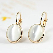 Drop Earrings Crystal Gold Plated Silver Golden Jewelry Wedding Party Daily Casual