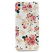 모란은 아이폰 4 / 4S를위한 꽃 패턴 하드 케이스 장미