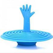손바닥 마개 욕조, 고무 4 색 누수 플러그 분지 플러그
