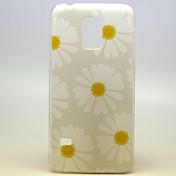 갤럭시 삼성 S5 미니에 대한 좋은 꽃 꽃 본 단단한 플라스틱 케이스