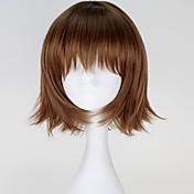 Pelucas de Cosplay Tokyo Ghoul Cosplay Marrón Corto Animé Pelucas de Cosplay 30 CM Fibra resistente al calor Mujer