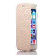 용 아이폰6케이스 / 아이폰6플러스 케이스 스탠드 / 플립 케이스 풀 바디 케이스 기하학 패턴 하드 인조 가죽 iPhone 6s Plus/6 Plus / iPhone 6s/6