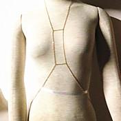 유럽 비키니 체인 여성 황금 합금 바디 체인 (70cm의 * 5cm의 *의 5cm) (1 개)