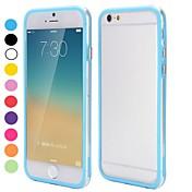 용 아이폰6케이스 / 아이폰6플러스 케이스 투명 케이스 범퍼 케이스 단색 소프트 TPU iPhone 6s Plus/6 Plus / iPhone 6s/6