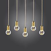 펜던트 조명 ,  컴템포러리 / 모던 빈티지 골든 특색 for LED 미니 스타일 금속 거실 침실 주방 학습 방 / 사무실 현관