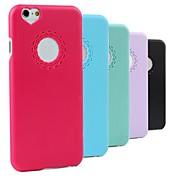 Para Funda iPhone 6 / Funda iPhone 6 Plus Diseños Funda Cubierta Trasera Funda Un Color Dura PolicarbonatoiPhone 6s Plus/6 Plus / iPhone