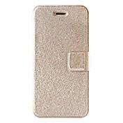 용 아이폰6케이스 / 아이폰6플러스 케이스 카드 홀더 / 스탠드 / 플립 케이스 풀 바디 케이스 글리터 샤인 하드 인조 가죽 iPhone 6s Plus/6 Plus / iPhone 6s/6