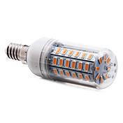 4w e14 led luces de maíz t 56 smd 5730 350-400 lm caliente blanco ac 220-240 v