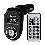 BT-303 다기능 블루투스 2.1 핸즈프리 자동차 키트 MP3 플레이어 FM 송신기 A2DP
