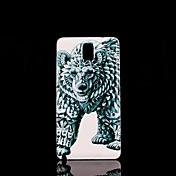용 Samsung Galaxy Note 패턴 케이스 뒷면 커버 케이스 동물 PC Samsung Note 3