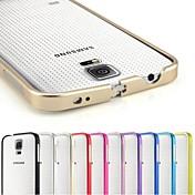Teléfono Móvil Samsung - Contra Golpes - Color Sólido - para Samsung S5 i9600 (Negro/Rojo/Verde/Azul/Rosado/Púrpura/Rosa/Dorado/Plateado/Azul claro ,