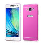 Para Funda Samsung Galaxy Cromado Funda Cubierta Trasera Funda Un Color Acrílico Samsung A7