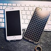 용 아이폰6케이스 / 아이폰6플러스 케이스 패턴 케이스 뒷면 커버 케이스 기하학 패턴 소프트 TPU iPhone 6s Plus/6 Plus / iPhone 6s/6