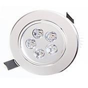 Luces LED Descendentes 5 LED de Alta Potencia 450-550lm lm Blanco Cálido / Blanco Natural Decorativa AC 85-265 V 1 pieza