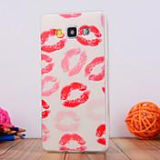 Para Funda Samsung Galaxy Diseños Funda Cubierta Trasera Funda Chica Sexy TPU Samsung A5