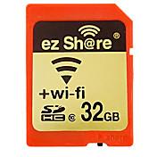 ez Share 33GB 와이파이 SD 카드 메모리 카드 CLASS10
