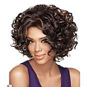 Mujer Pelucas sintéticas Sin Tapa Rizado Negro Peluca afroamericana Para mujeres de color Las pelucas del traje