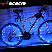 Luces para bicicleta luces de la rueda LED - Ciclismo Color variable baterías de la célula 400 Lumens Batería USB Ciclismo