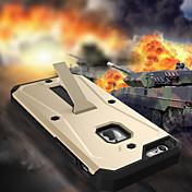 용 아이폰6케이스 / 아이폰6플러스 케이스 충격방지 / 방진 / 방수 / 스탠드 케이스 뒷면 커버 케이스 갑옷 하드 PC iPhone 6s Plus/6 Plus / iPhone 6s/6