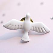 arte del metal de la vendimia de la moda de estilo europeo fresco broche blanca paloma de la paz (individual)