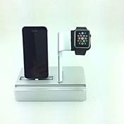 reloj de manzana soporte de carga sostenedor del soporte para iWatch apple, ipad e iphone