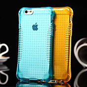 번개 투명 패션 에어 쿠션이 아이폰 6 플러스 / 기가 플러스에 대한 TPU 소프트 케이스를 떨어 보호 전화 (모듬 색상)
