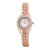 Mujer Reloj de Moda Reloj Pulsera Reloj Casual Cuarzo Aleación Banda Elegantes Oro Rosa Oro Rosa