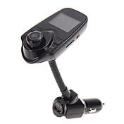 슈퍼 블루투스 T10 자동차 키트 핸즈프리 FM 송신기 무선 MP3 음악 플레이어 지원 TF 카드, 5V의 2.1A의 USB 차량용 충전기