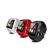 Icestar 웨어러블 - 스마트 시계 - 블루투스 3.0 - 핸즈프리 콜 / 메세지 컨트롤 / 카메라 컨트롤 - 액티비티 트렉커 / 타이머 / 스톱워치 / 알람시계 - 용 - iOS / Android