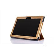 탭 2 x30f a10-30 태블릿에 대한 레노버 TAB2 a10-30 경우 가능한 고품질의 얇은 3 접이식 플립 가죽 커버