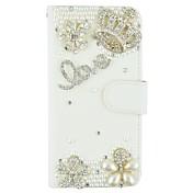 용 아이폰6케이스 / 아이폰6플러스 케이스 카드 홀더 / 크리스탈 / 스탠드 / 플립 케이스 풀 바디 케이스 3D카툰 캐릭터 하드 인조 가죽 iPhone 6s Plus/6 Plus / iPhone 6s/6