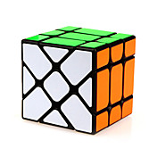 Yongjun® 부드러운 속도 큐브 에일리언 속도 매직 큐브 블랙 페이드 ABS