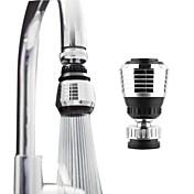 360 de rotación del eslabón giratorio del grifo accesorios de cocina ahorro de purificador de agua adaptador de filtro de agua de la
