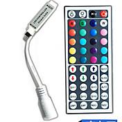 dc5-24v 44 키 색상 원격 제어 RGB 문자열 조명을 주도