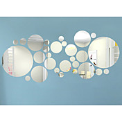 3D 벽 스티커 플레인 월스티커 / 거울 벽스티커 데코레이티브 월 스티커,Acrylic 자료 이동가능 / 재부착가능 홈 장식 벽 데칼